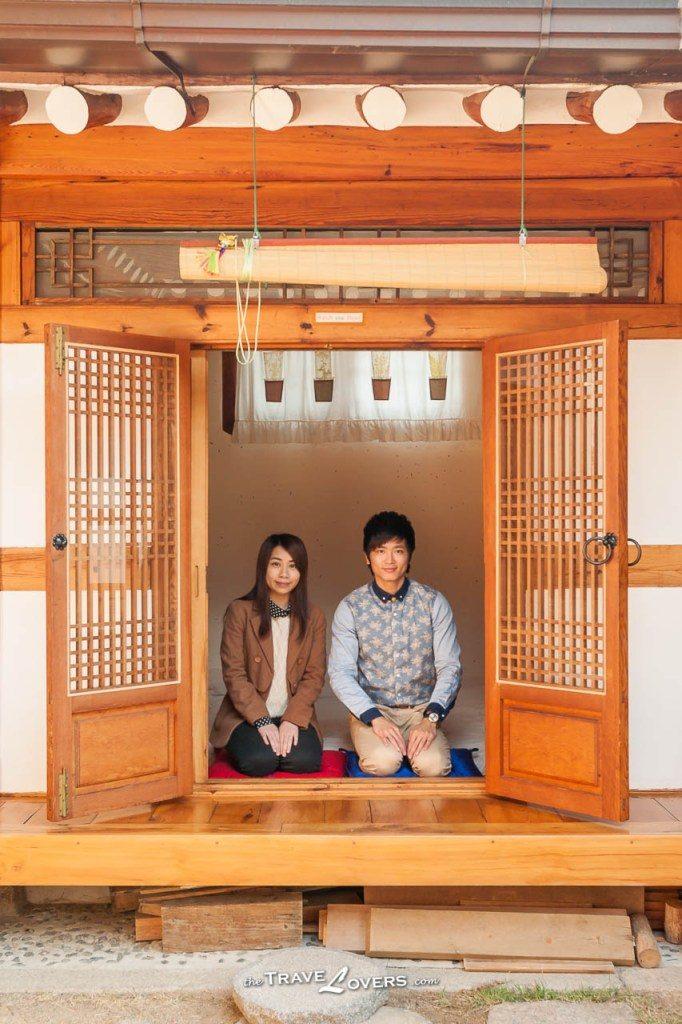 Korea Seoul Hanok Dahmsojung